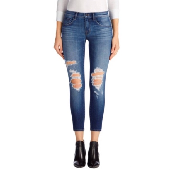 e78848664221 J Brand Jeans   9326 Lowrise Crop Skinny Decoy Destruct   Poshmark
